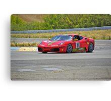 F430 Ferrari #11 Canvas Print