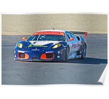 F430 Ferrari LeMans GT Poster