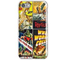 1950s Sci-Fi Poster Collection #2 iPhone Case/Skin