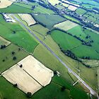 Welshpool Airfield Aerial shot by John Maxwell