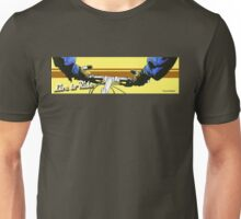 Live to Ride Handle Bars - Blue/Yellow Unisex T-Shirt