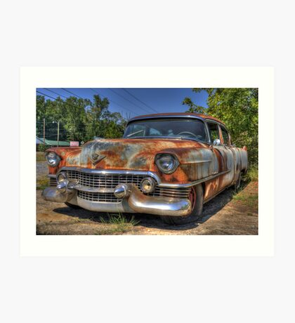 54 Cadillac Art Print