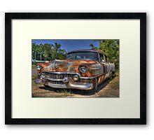 54 Cadillac Framed Print