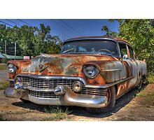 54 Cadillac Photographic Print
