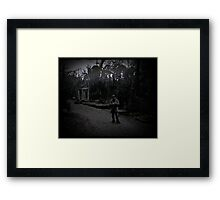 orpheus waiting to descend Framed Print