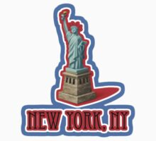 New York NY vacation truck stop tee  Baby Tee