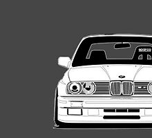 BMW M3 e30 - White & Grey Edition by Don Pietro
