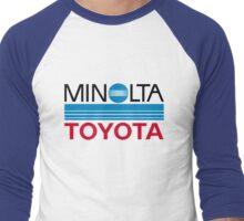 Le Mans Retro - Minolta Men's Baseball ¾ T-Shirt