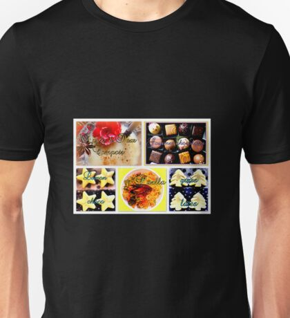 Food adventures Unisex T-Shirt