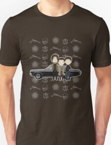 Supernatural cute team free will / Sam & Dean Winchester / Castiel Unisex T-Shirt
