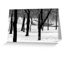 Ghosts of Winter Greeting Card