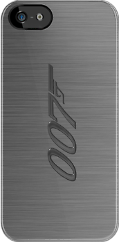 James Bond- 007 iphone case by ALIANATOR