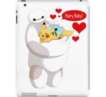 Baymax hugs Pokemon Hairy Baby hero iPad Case/Skin