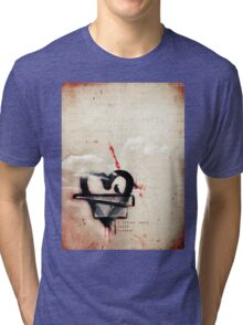 a broken heart lasts forever Tri-blend T-Shirt