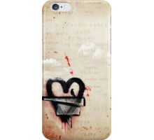a broken heart lasts forever iPhone Case/Skin