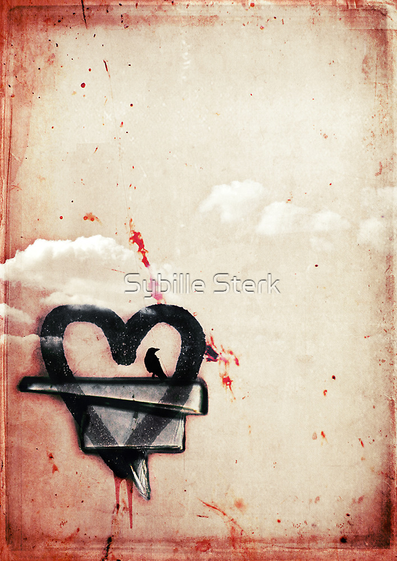 a broken heart lasts forever by Sybille Sterk