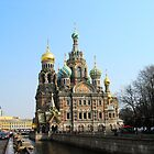 St. Petersburg Church by BrianFitePhoto