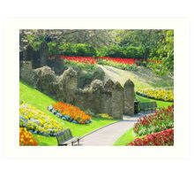 Guildford Palace in England Art Print
