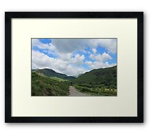 Path Towards The Langdales Framed Print