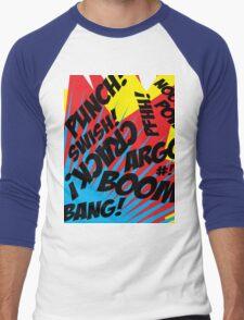 Comic Madness! Men's Baseball ¾ T-Shirt