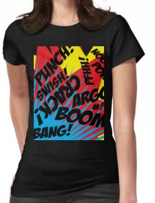 Comic Madness! Womens Fitted T-Shirt