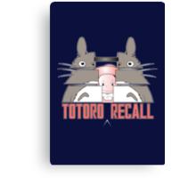 Totoro Recall Canvas Print