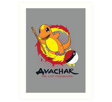 Avachar- The last Firebender Art Print
