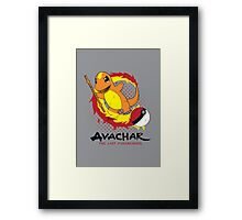 Avachar- The last Firebender Framed Print