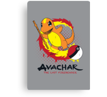 Avachar- The last Firebender Canvas Print