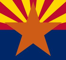 Arizona State flag - Authentic version Sticker