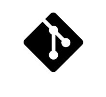 Git for iPhone - Black logo by Ozh !