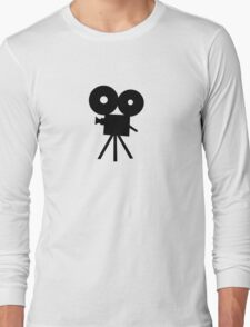 Film camera movie Long Sleeve T-Shirt