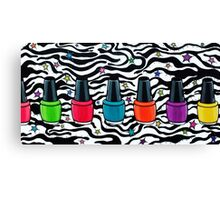 Laquered Up, Creations by Linz Canvas Print