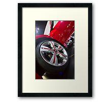 Hyundai Veloster Wheel [ Print & iPad / iPod / iPhone Case ] Framed Print