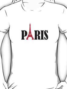 Paris Eiffel Tower T-Shirt
