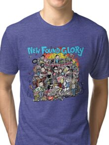 NEW FOUND GLORY Tri-blend T-Shirt