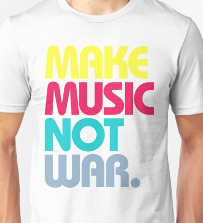 Make Music Not War (Venerable) T-Shirt