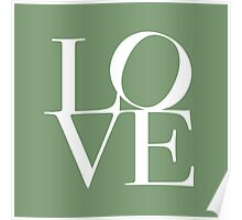 Love in Green Poster