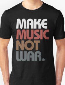Make Music Not War (Antique) T-Shirt