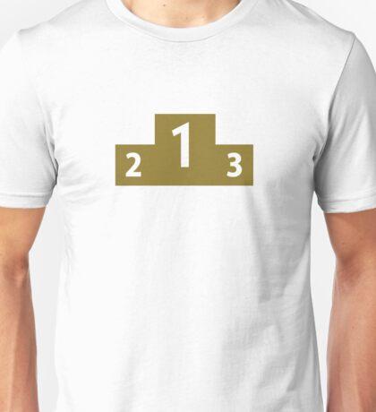 Podium winner Unisex T-Shirt