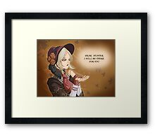 Plain Doll Framed Print