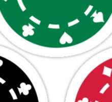 Poker casino Sticker