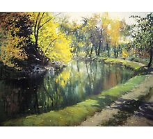 The c and O canal Photographic Print