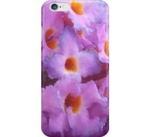 Pink And Orange Flowers iPhone Case/Skin