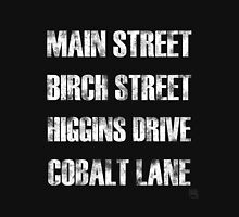 Birch Street, Higgins Drive Womens Fitted T-Shirt