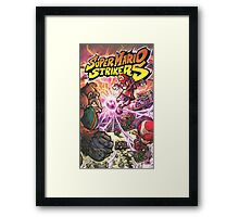 Super mario strikers Cover Framed Print
