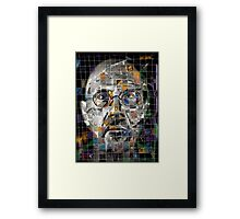 Chuck Close Framed Print