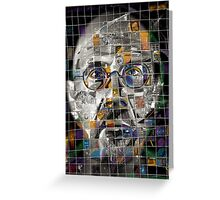 Chuck Close Greeting Card
