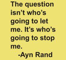 Ayn Rand Kids Tee