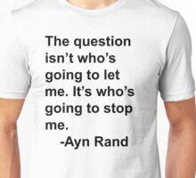 Ayn Rand Unisex T-Shirt